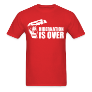 T-Shirts ~ Men's T-Shirt ~ Hibernation is Over Rally Squirrel 12 in 12 Shirt