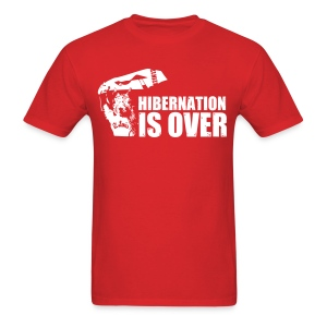 Hibernation is Over Rally Squirrel 12 in 12 Shirt - Men's T-Shirt