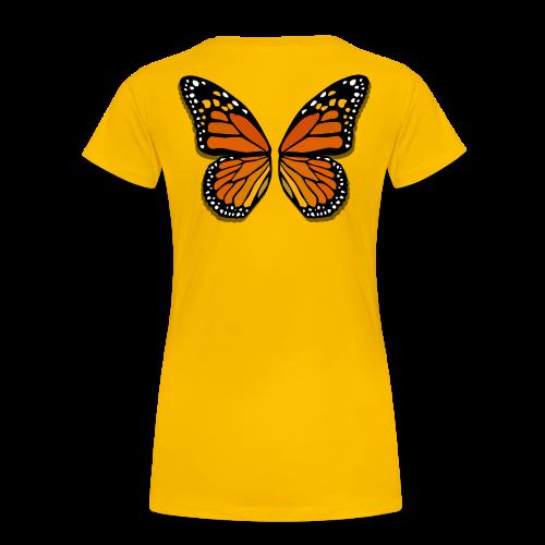 Butterfly Wings Shirts Women's Halloween Costume Shirts - Women's Premium T-Shirt