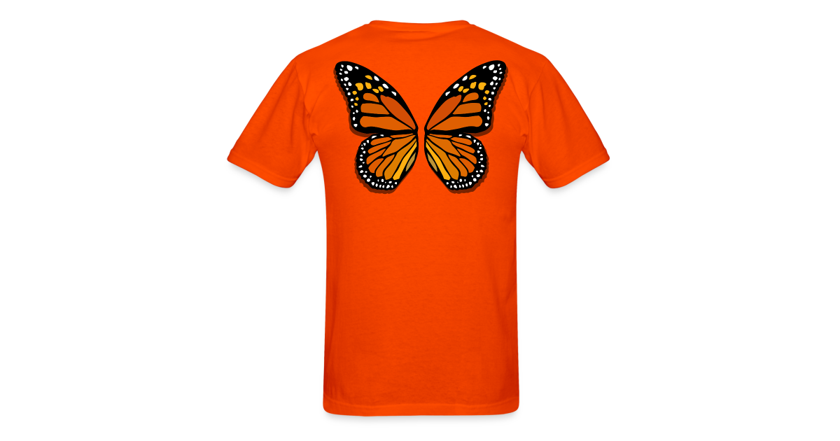 293bc33888b2 Butterfly Wings Shirts Men s Halloween Costume Shirts