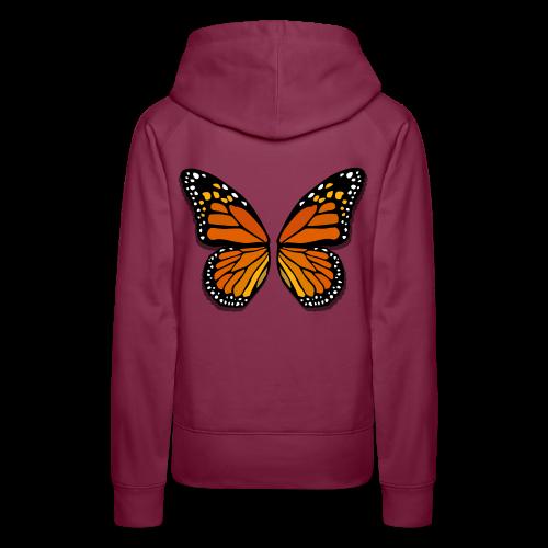 Butterfly Wings Hoodies Women's Halloween Costume Shirts - Women's Premium Hoodie