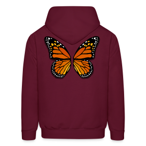 Butterfly Wings Hoodies Men's Halloween Costume Shirts - Men's Hoodie