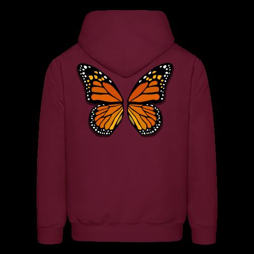 Butterfly Wings Hoodies Men's Halloween Costume Shirts - Men's Hoodie