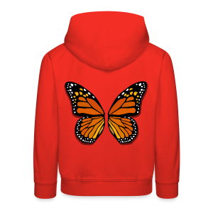 Butterfly Wings Hoodies Kid's Halloween Costume Shirts - Kids' Premium Hoodie