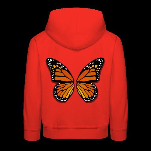 Butterfly Wings Hoodies Kid's Halloween Costume Shirts - Kids' Premium Hoodie