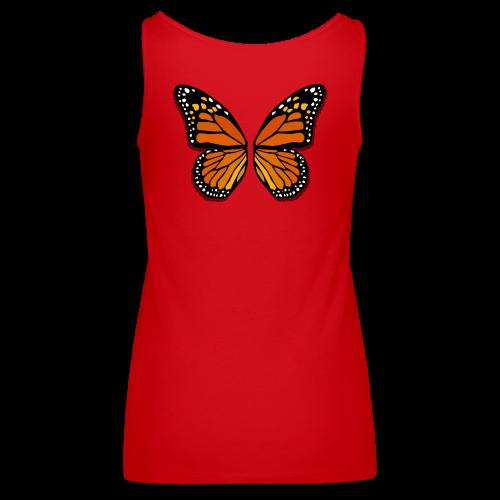 Butterfly Wings Shirt Women's Halloween Costumes - Women's Premium Tank Top