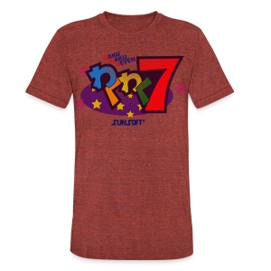 WakuWaku7 - Unisex Tri-Blend T-Shirt by American Apparel
