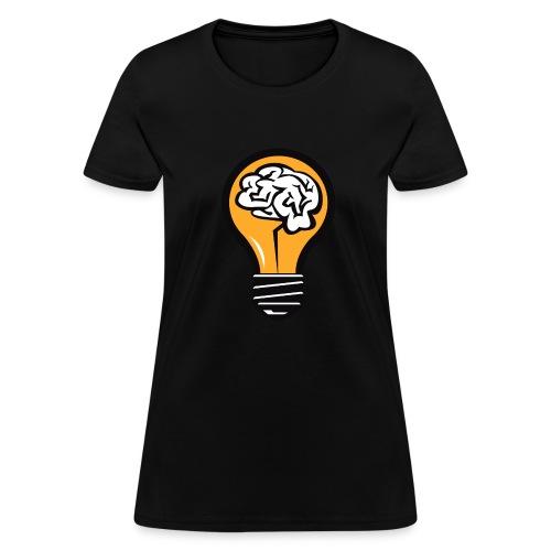 One Bulb  - Women's T-Shirt