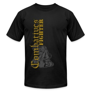 Combatives Fighter Slim Fit - Men's T-Shirt by American Apparel