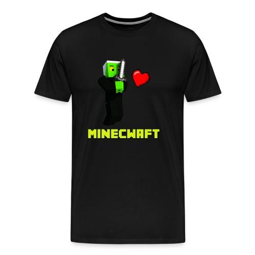 ZGW Minecwaft T-Shirt - Men's - Men's Premium T-Shirt