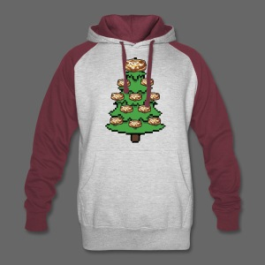 Coney Ugly Christmas Sweater Style - Colorblock Hoodie