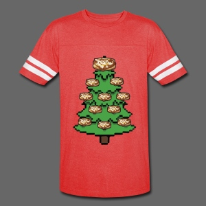 Coney Ugly Christmas Sweater Style - Vintage Sport T-Shirt