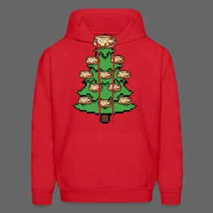 Coney Ugly Christmas Sweater Style - Men's Hoodie
