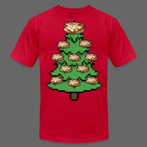 Coney Ugly Christmas Sweater Style - Men's T-Shirt by American Apparel