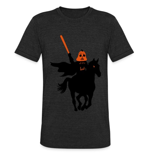 Headless Horseman Darth Vader - Unisex Tri-Blend T-Shirt by American Apparel
