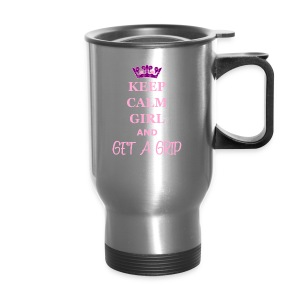 Keep Calm Coffee Thermos - Travel Mug