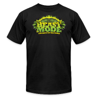 T-Shirts ~ Men's T-Shirt by American Apparel ~ Beastmode Beast Green