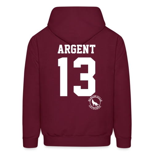 ARGENT 13 - Hoodie (XL Logo +S) - Men's Hoodie