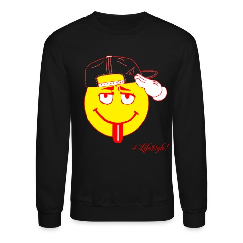 The Takeoff Smiley Crew - Crewneck Sweatshirt