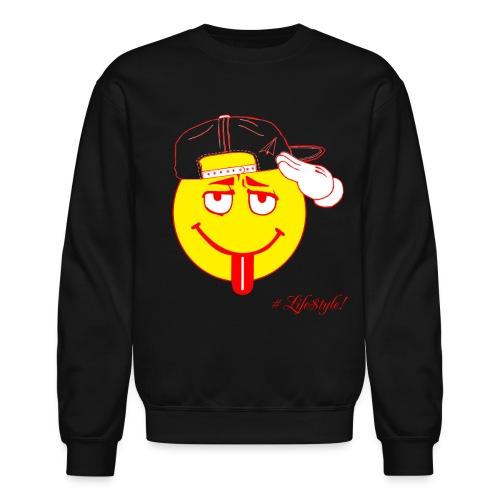 The Takeoff Smiley Crew - Crewneck Sweatshirt
