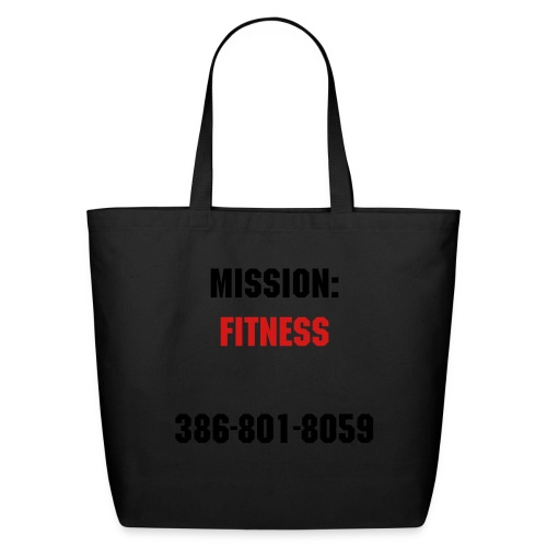 Mission: Fitness Tote - Eco-Friendly Cotton Tote