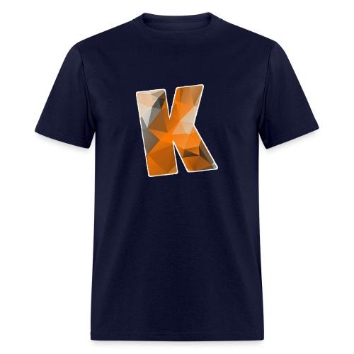 Navy Blue Logo - Men's T-shirt - Men's T-Shirt