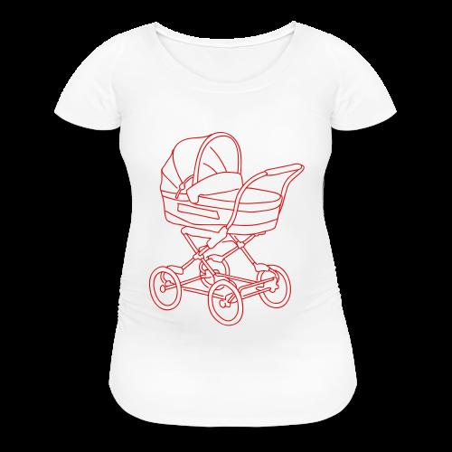 Baby stroller - Women's Maternity T-Shirt