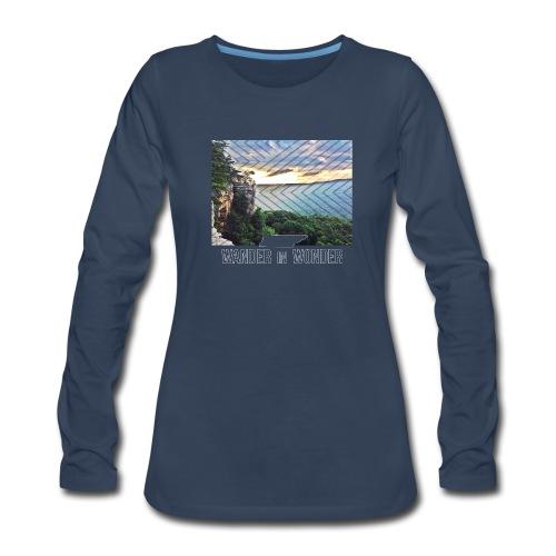 Women's Wander in Wonder Tennessee - Women's Premium Long Sleeve T-Shirt