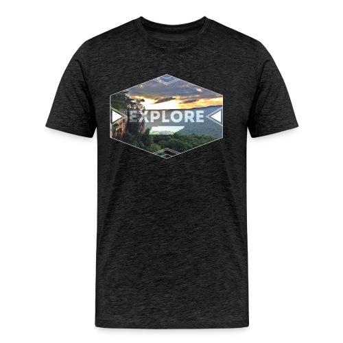 Adult Explore Stone Door Tennessee - Men's Premium T-Shirt