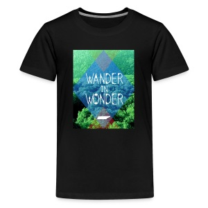 Youth Wander in Wonder with Tennessee - Kids' Premium T-Shirt