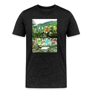 Adult Wander in Wonder creek - Men's Premium T-Shirt