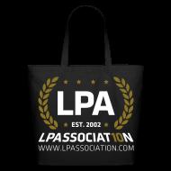 Bags & backpacks ~ Eco-Friendly Cotton Tote ~ LPA 10th Anniversary Tote Bag (Black)