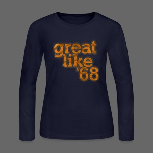 Great like '68 - Women's Long Sleeve Jersey T-Shirt