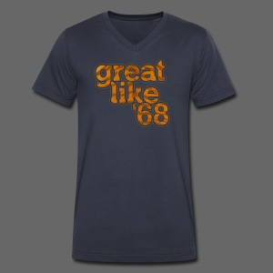 Great like '68 - Men's V-Neck T-Shirt by Canvas