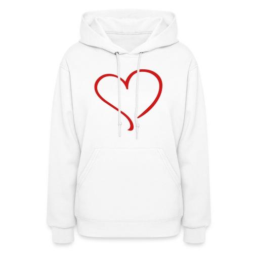 Hearts Sweater - Women's Hoodie