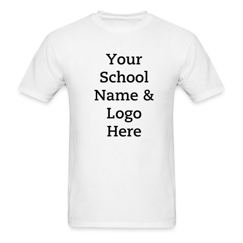 School T-shirts - Men's T-Shirt