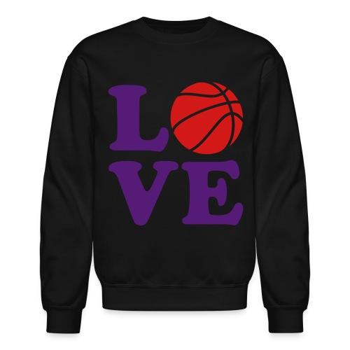 Love Basketball C rewneck (Raptors Colorway) - Crewneck Sweatshirt