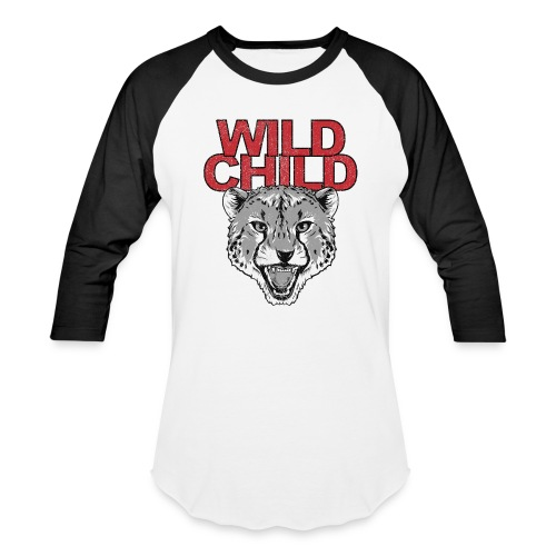 WILD CHILD Vintage ladies raglan - Baseball T-Shirt