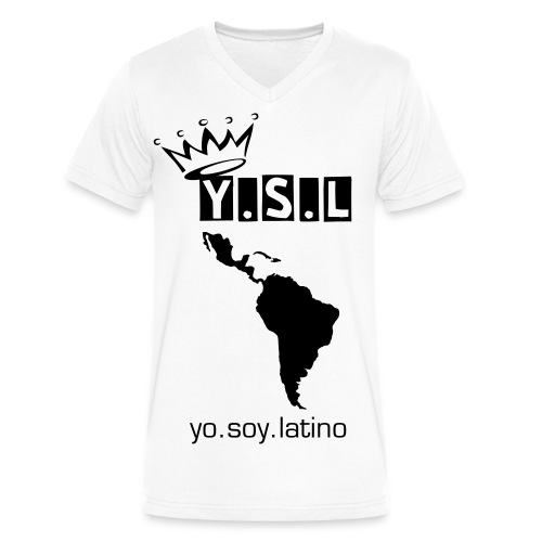 yo.soy.latino - Men's V-Neck T-Shirt by Canvas