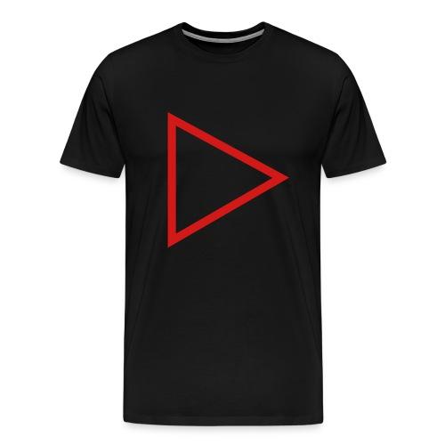 Mens Premium PlayButton T - Men's Premium T-Shirt