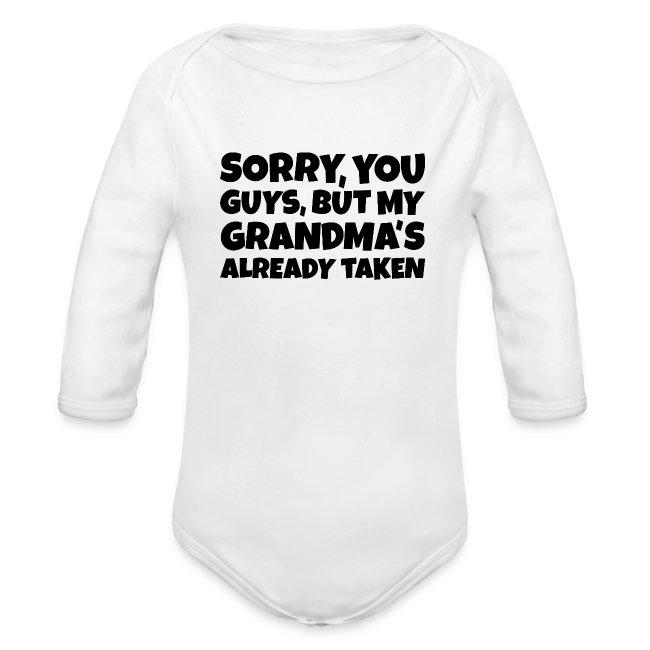9e320225 The Balancing Act T-Shirts | My Grandmas already taken Baby Bodysuit ...