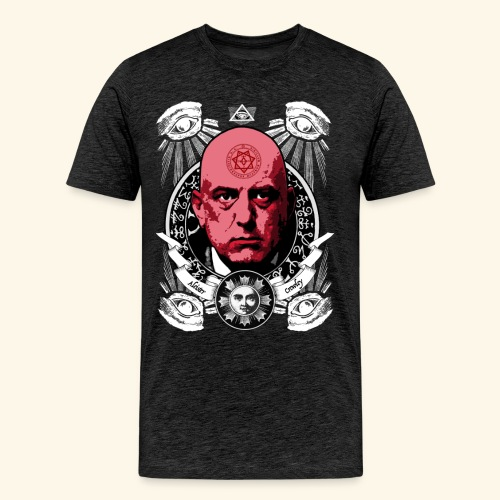 Aleister Crowley T-Shirts - Men's Premium T-Shirt