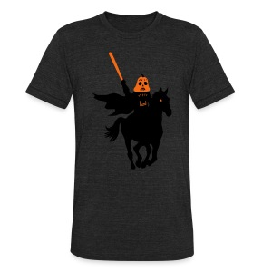 Headless Horseman Vader - Unisex Tri-Blend T-Shirt by American Apparel