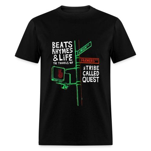 Beats Rhymes Life - Men's T-Shirt