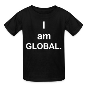 I am global - Kids' T-Shirt
