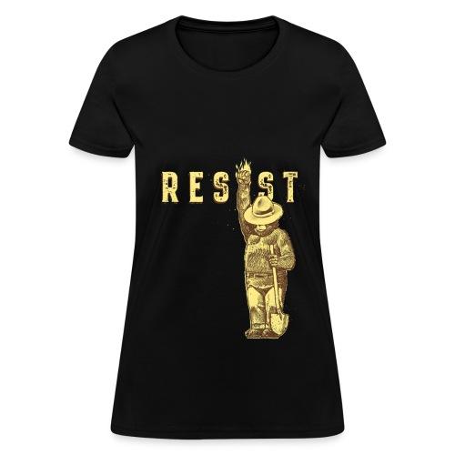 Resist Say Smokey  - Women's T-Shirt