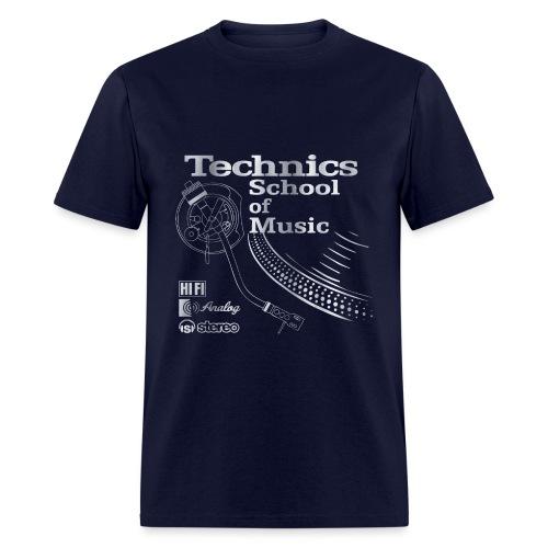Old School Technics - Men's T-Shirt