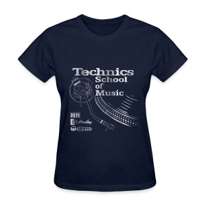 Old School Technics - Women's T-Shirt