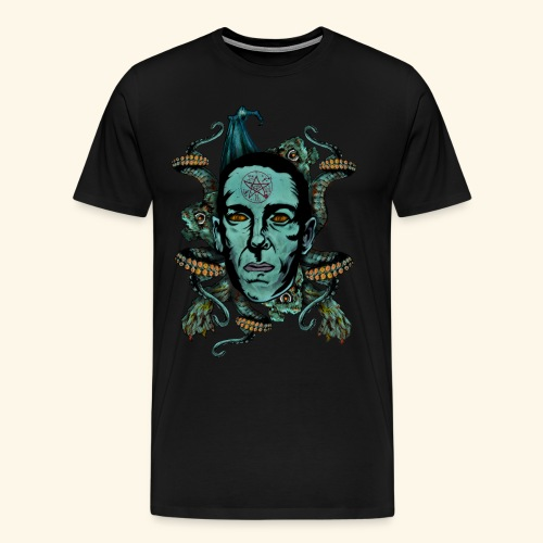 Howard Phillips Lovecraft - Men's Premium T-Shirt