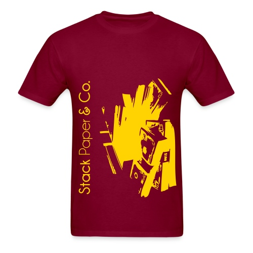 stack paper and co. shirt  - Men's T-Shirt